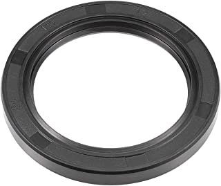 uxcell Oil Seal, TC 80mm x 110mm x 12mm, Nitrile Rubber Cover Double Lip