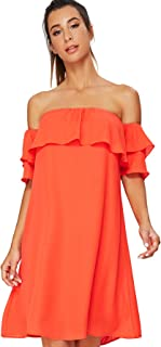 coral dress womens