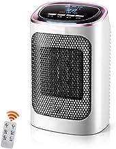 NFJ-LYR Calefactor Ventilador,Protección sobrecalentamiento,Calefactor bajo Consumo electrico,2 Modos,Ventiladores bajo Consumo,Calefactor Portátil,Termostato Regulable