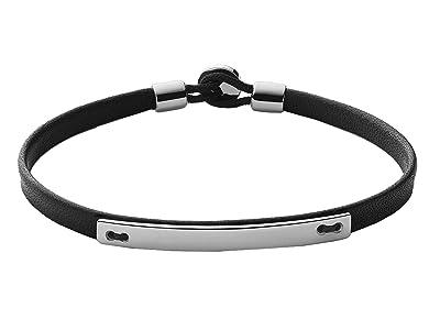 Miansai Nexus ID Leather Bracelet (Black) Bracelet