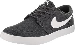Mens Sb Solar Portmore Ii Canvas Premium Skate Casual Sneakers, Grey, 8.5