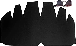 3pk. Black Baseball Caps Crown Inserts, Flexible & Long Lasting Hat Shaper, Foam Hat Liner Support for Snapback Caps, Fitted Caps, Ball Sports Caps and More. 100% Mbg, 1 Free with Purchase of 3 Pk.