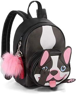Bulldog-mochila Fashion Shy Mochila tipo casual, 28 cm, 8 litros, Negro
