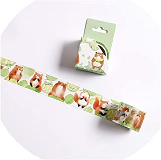 15/30mm Zoo Fruit Paper Decorative Masking Tapeese Stationery Crafts and Scrapbooking Cute Tape,P