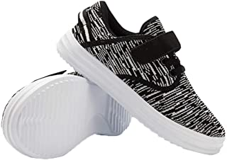 Cutepaw Toddler Kid's Sneakers Boys Girls Breathable Casual Running Shoes Lightweight Walking Shoes Slip-On Sneakers for Beginning Walkers