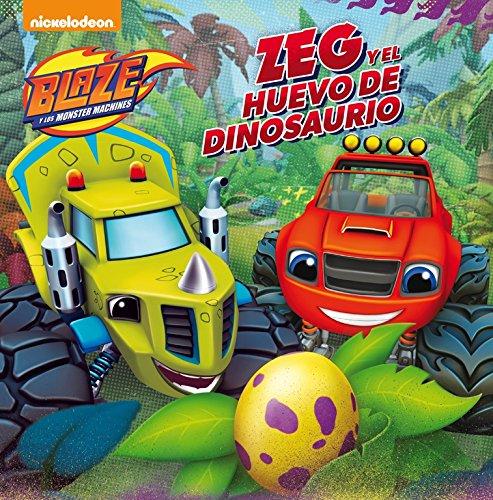 Zeg y el huevo de dinosaurio (Blaze y los Monster Machines....