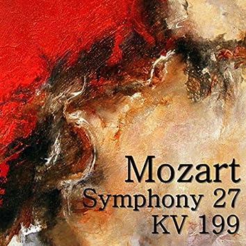 Mozart Symphony 27, KV 199