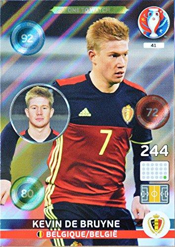 carte PANINI EURO 2016 #41 Kevin de Bruyne