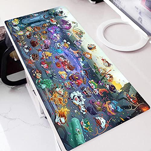 Alfombrillas de ratón para Juegos con Imágenes De Dibujos Animados Bonitos,Alfombrilla De Teclado para Juegos,Alfombrilla De Escritorio para Ordenador Portátil Bonita,Alfombrilla De Mesa 700X300Mm