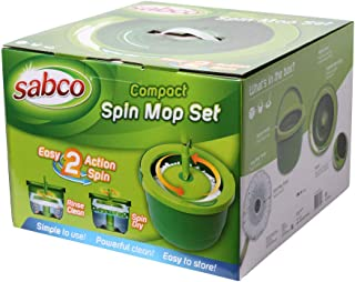 Sabco SAB37067 Compact Spin Mop Set