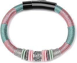N/A Sieraden S925 zilver tweekleurige armband mode eenvoudige paar hand geweven hand touw Moederdag Kerstmis Verjaardagsca...