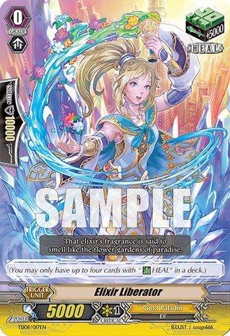 Cardfight!! Vanguard TCG - Elixir Liberator (TD08/017EN) - Trial Deck 8: Liberator of the Sanctuary by Bushiroad Inc.