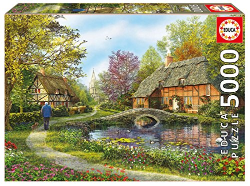 Puzzles Educa - Puzzle Casas De Campo, 5...