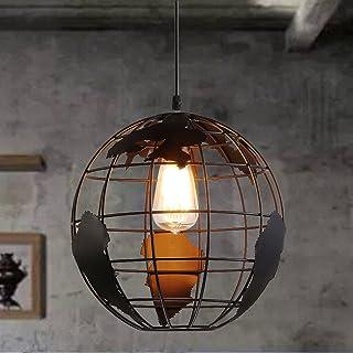 Esoes Lampe De Sphérique Moderne   Lustre Créatif Avec Pendentif Lampe De  Plafond En Métal Style