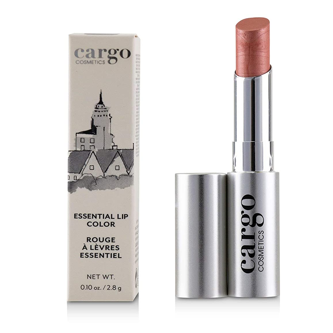 水差しチップすきカーゴ Essential Lip Color - # Bermuda (Nude Pink) 2.8g/0.01oz並行輸入品