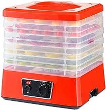 Máquina de conservación de alimentos para el hogar Deshidratador de alimentos con control de temperatura, bandeja de ABS de 5 capas para levantar y secar la máquina de frutas para el secado de aliment
