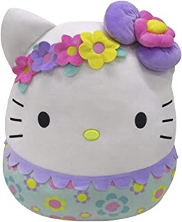 """20"""" Floral Hello Kitty Squishmallows, Huggable Plush Toys, Squishmallows 