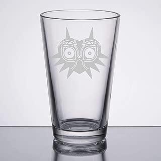 The Legend of Zelda - Majora's Mask - Etched Pint Glass