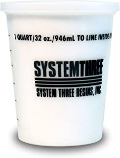System Three 3145S16 White Glass Microspheres, 1 Quart Tub