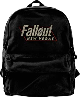 Fall-Out New Vegas Pattern Backpack Lightweight Multi-Function College School Laptop Bookbag