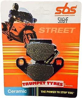 Trumpet Tyres : Race & Motorcycle Parts Derbi Dxr 250 Quad (Delante Batería) 04-05 2004-2005 SBS Rendimiento Trasero Pastillas Freno Cerámicas Set Calidad Genuina OE 586hf