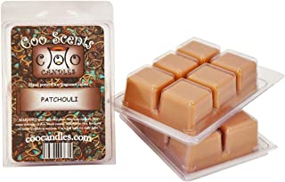 3 Pack of Coo Candles Soy Wickless Candle Bar Wax Melts - Patchouli (3)