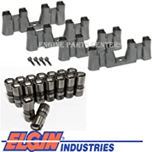 Hydraulic NON AFM Roller Lifters+Trays+Bolts compatible with 1997-2016 Chevy 5.3 5.7 6.0 LS1 LS2 LS3 LS7(LIFTER & TRAY KIT)