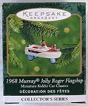 Hallmark Keepsake Miniature Ornament Kiddie Car Classics 1968 Murray Jolly Roger Flagship 6th in Series