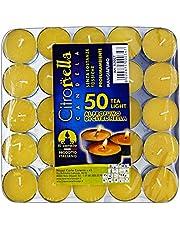 Citronella, Velas calientav.x 50 Unidades para decoración de jardín