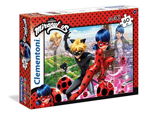 Clementoni 26427–Puzzle Miraculous Ladybug