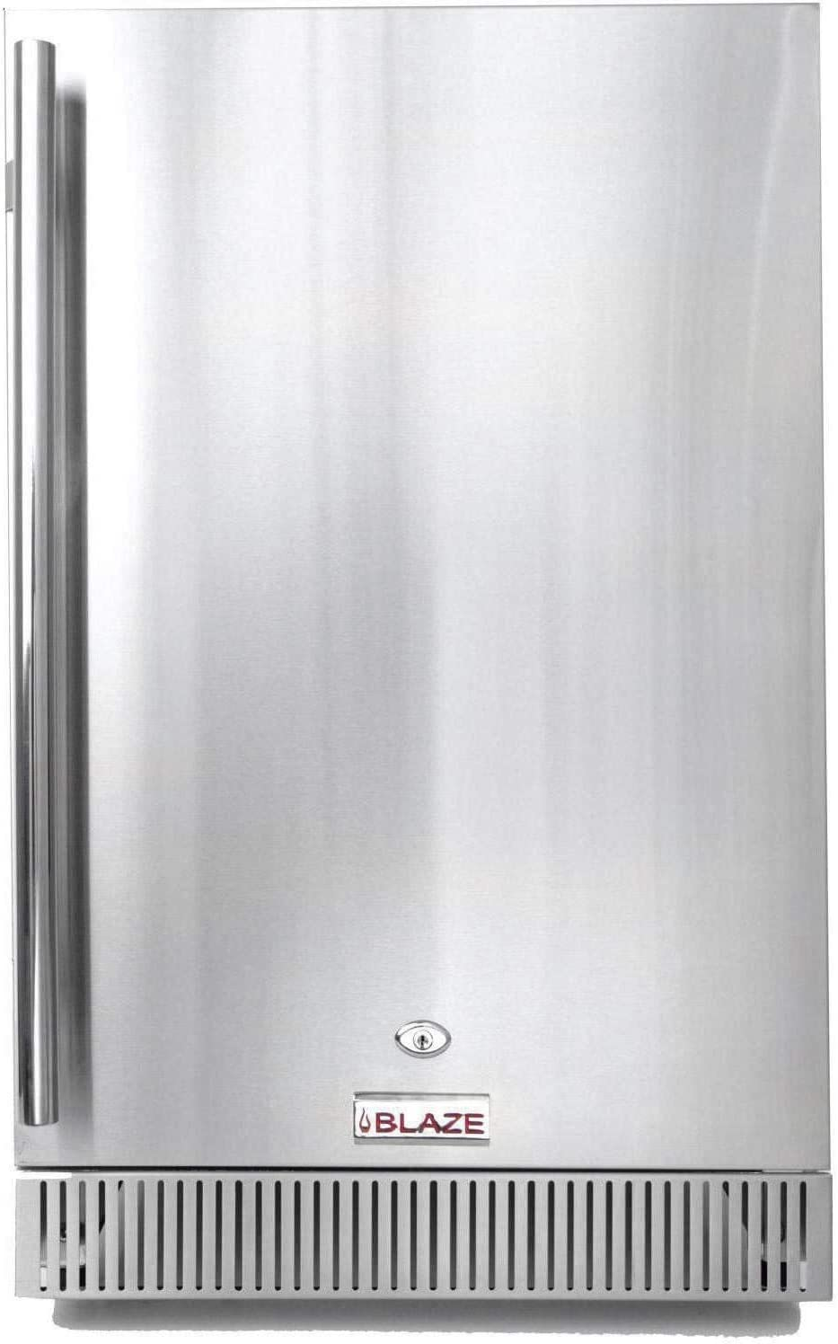 Blaze 20-Inch 4.1 Portland Mall Cu. Ft. Outdoor SEAL limited product Compact Refrigerator Rated B -