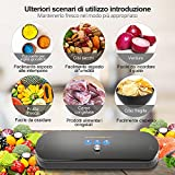 Zoom IMG-2 macchina sottovuoto per alimenti kitchenboss