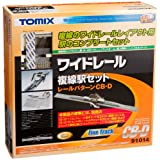 TOMIX Nゲージ ワイドレール 複線駅セットCB-D 91014 鉄道模型用品
