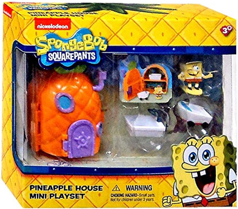 oferta especial Spongebob Squarepants Squarepants Squarepants Pineapple House Mini Jugarset by Just Jugar  deportes calientes