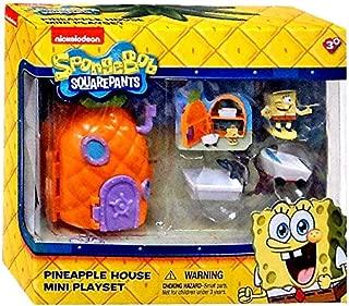 Spongebob Squarepants Pineapple House Mini Playset by Just Play