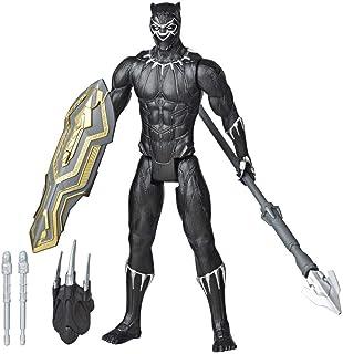 Boneco Vingadores Pantera Negra Titan Hero Lançador - E7388 - Hasbro