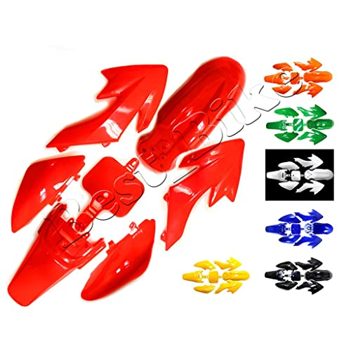 Plastic Fairing Fender Kit for Honda XR50 CRF50 CRF 50 XR 50 SSR SDG 107cc 125cc