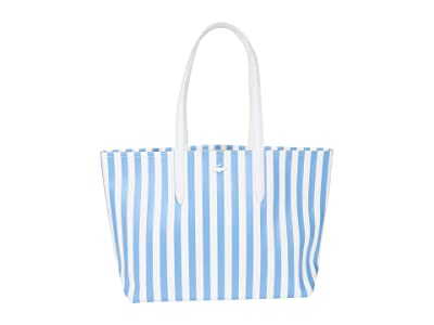 Lacoste Striped Anna Reversible Tote Bag