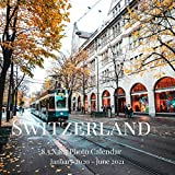 Switzerland 8.5 X 8.5 Photo Calendar January 2020 - June 2021: 18 Monthly Mini Picture Book  Cute 2020-2021 Year Blank At A Glance Monthly Colorful ... Country Photograph Desk Planner Calendars)