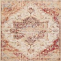 Luxe Weavers オリエンタルエリアラグ 5' x 7'