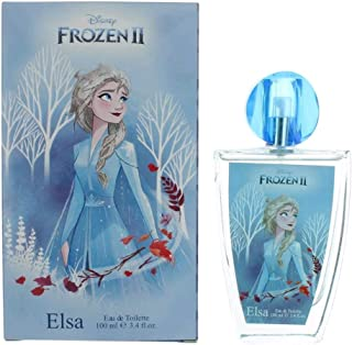 Frozen II Elsa by Dìsñéÿ Princess, 3.4 oz Eau De Toilette Spray for Girls