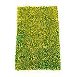 Mgoodoo Rasenmatte, Kunstrasen-Teppiche, für Baumodell, Garten, Miniaturen, Modellbau, Bodendekoration, 20 x 30 cm