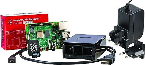 U:Create - Kit de iniciación de Raspberry Pi 4 Model B 4 4 GB, Negro, RPI4-MODB HDMISK-BLK4GB-AA