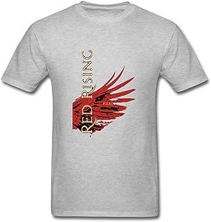 XIULUAN Men's Red Rising The Red Rising Trilogy Pierce Brown Long Sleeve T-Shirt