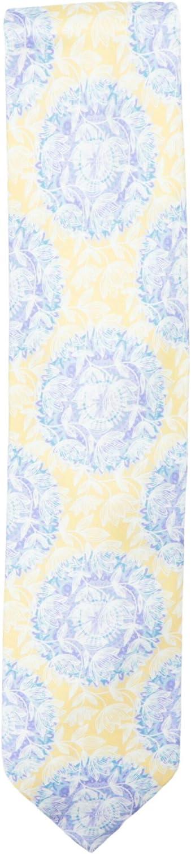 Italo Ferretti Men's Floral Silk Necktie