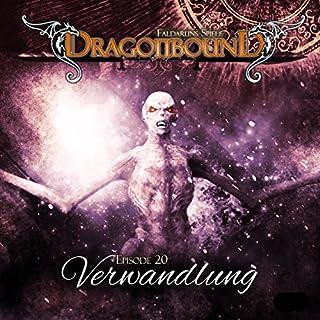 Verwandlung     Dragonbound 20              Autor:                                                                                                                                 Peter Lerf                               Sprecher:                                                                                                                                 Bettina Zech,                                                                                        Jürgen Kluckert                      Spieldauer: 1 Std. und 40 Min.     11 Bewertungen     Gesamt 4,9