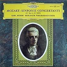 Wolfgang Amadeus Mozart / Karl Böhm / Berliner Philharmoniker - Sinfonie Concertanti, KV 364 & KV 297b - Deutsche Grammophon - 139 156 SLPM