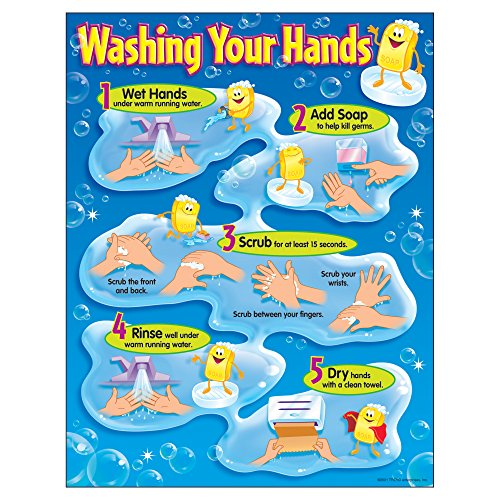 TREND enterprises, Inc. Washing Your Hands Learning Chart, 17