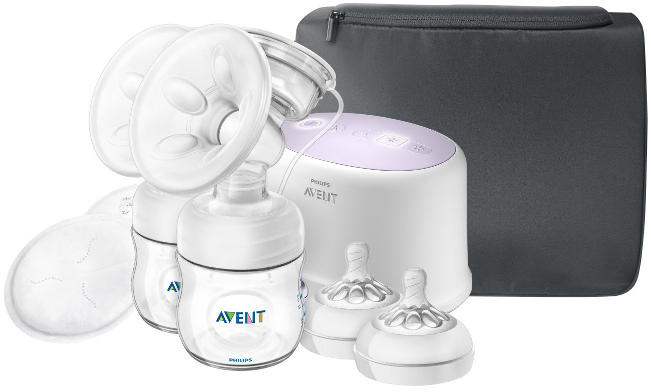 SCF334//31 Brand New Philips Avent Ultra Comfort Double Electric Breast Pump