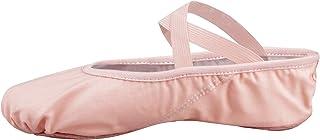 Zapatillas de Ballet Canvas Dance Zapatos Split (Negro y Rosa Claro) Le recomendamos Que Elija uno (1) Tamaño Más Grande Q...